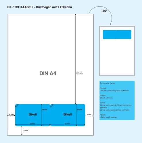 DK-STOFO-LAB015 - technische Zeichnung