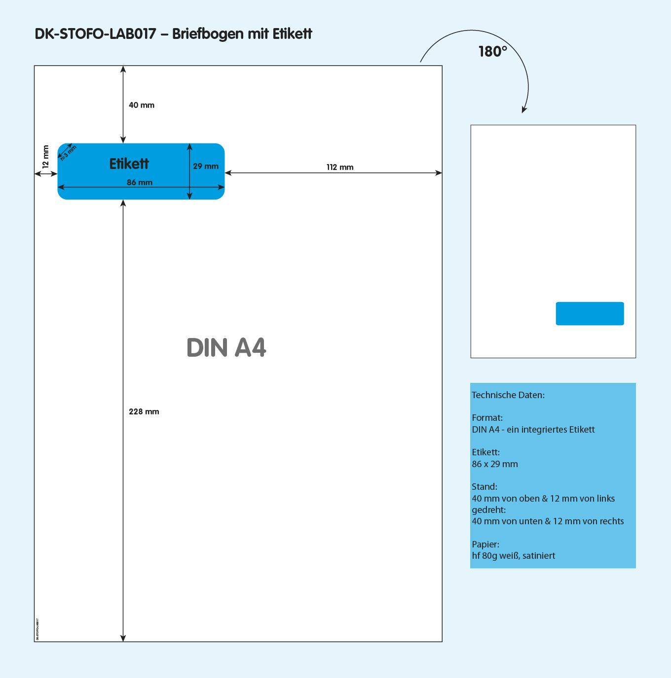 DK-STOFO-LAB017 - technische Zeichnung