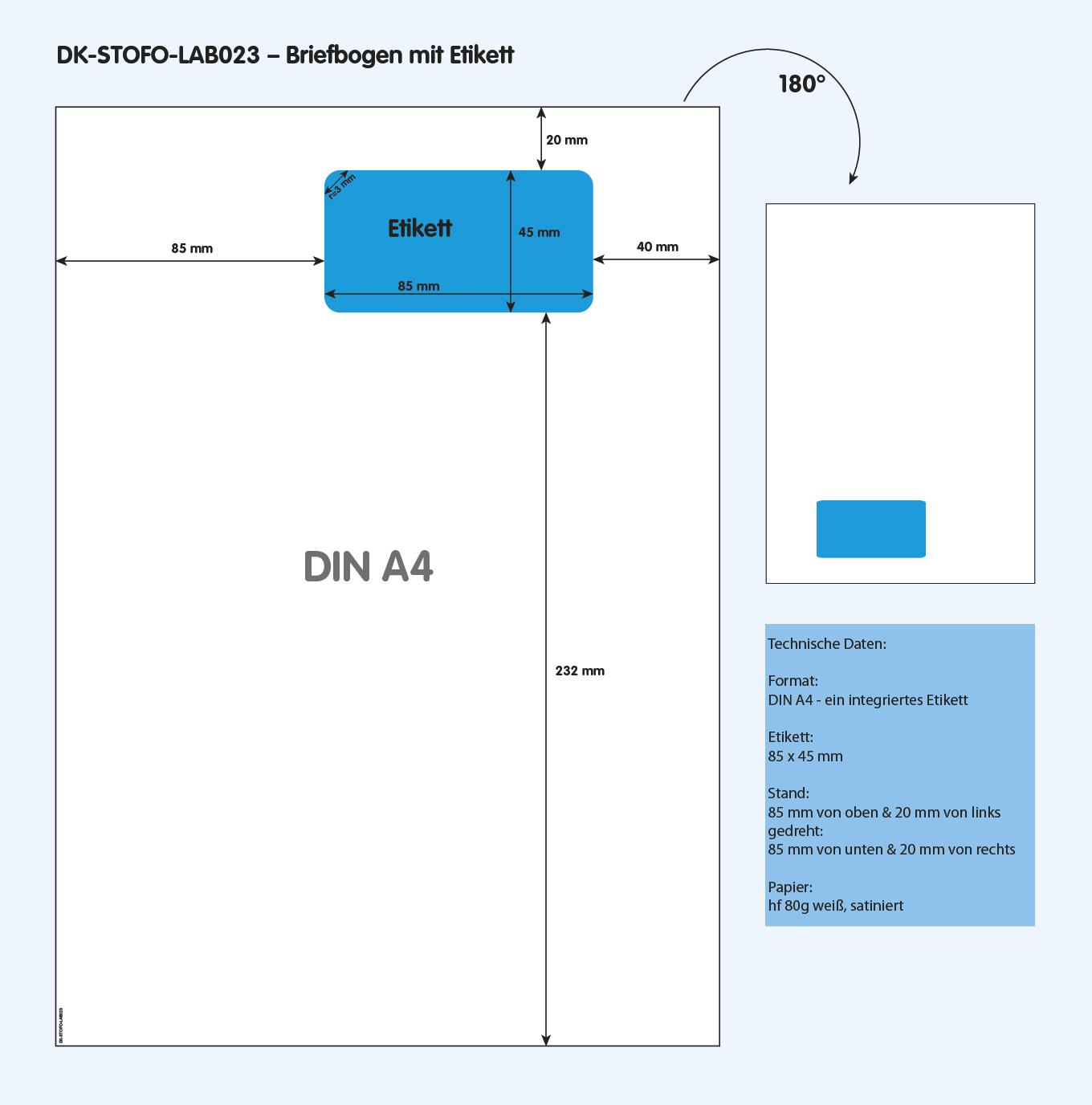 DK-STOFO-LAB023 - technische Zeichnung