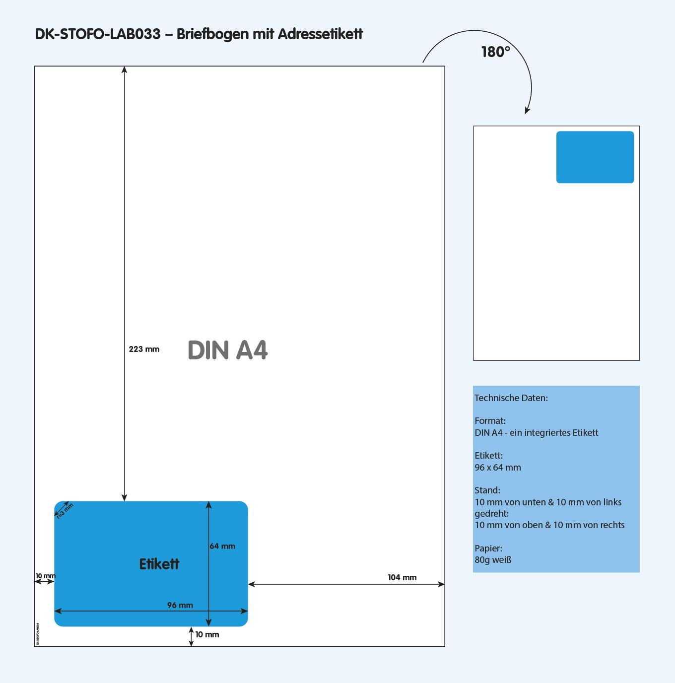 DK-STOFO-LAB033 - technische Zeichnung